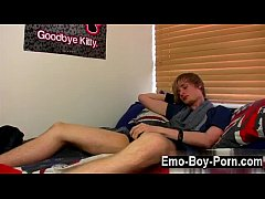 gay clip of brent daley is a super-cute blonde emo man one of our