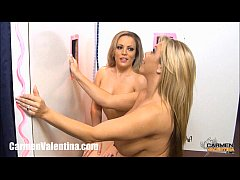 glory hole carmen valentina and amber bach