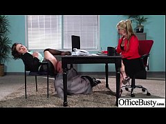 Office Busty Girl (krissy lynn) Get Banged Hard...