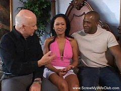 Interracial Anal Asian Black Swinger Fucks Stra...