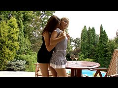 orgasmic nymphs by sapphic erotica - lesbian love porn with candie - zara