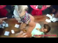 Hot Shorty Get Naked In A Reggaeton Party