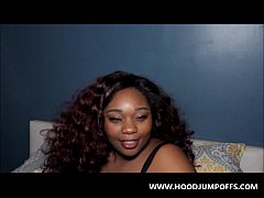 EBONY BLOWJOB QUEEN  @irie voluptuous GIVES A S...