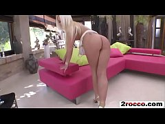 Very sexy European blonde babe gets ass fucked ...