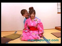 Dirty Japanese Sluts in Kimonos Fuck Sex and Sc...