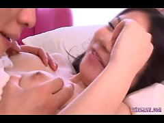 Asian Girl In Skirt With Tiny Tits Licked Finge...