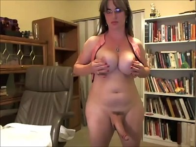 busty Shemale blond