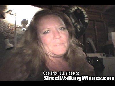 Skank Hooker Gives Barfing Blowjob (4 min)
