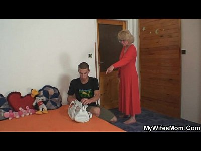 Motherinlaw comes in and helps him out - 1 part 1