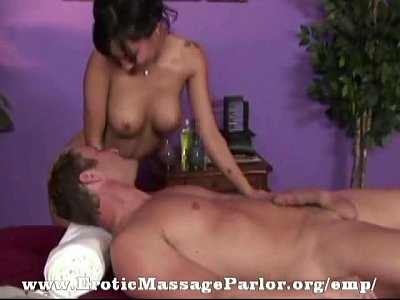 Sex in a massage parlor