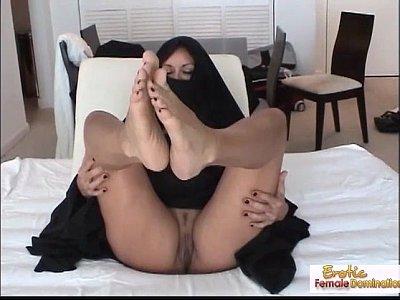 Muçulmana transando
