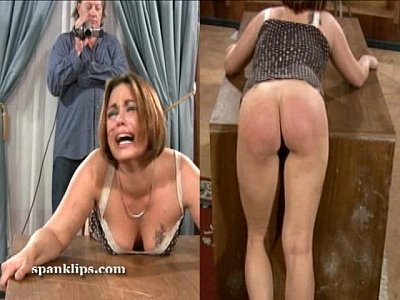 Milf ass punished by black