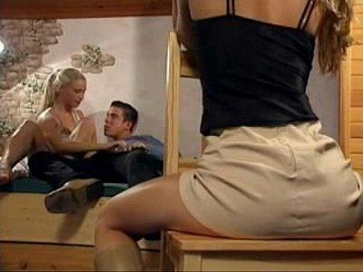 Порно фильм с блондинкой