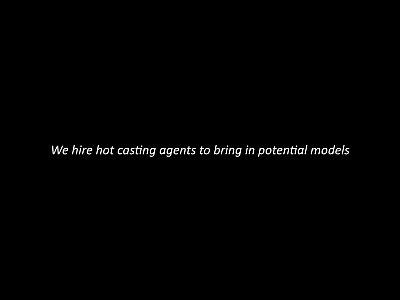 Adolescente hardcore casting se convierte en un trío caliente
