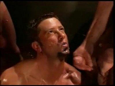 gay orgy train muscular; +; hunks jocks