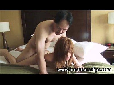 pelirroja amateur adolescente se folla a un chico asiático