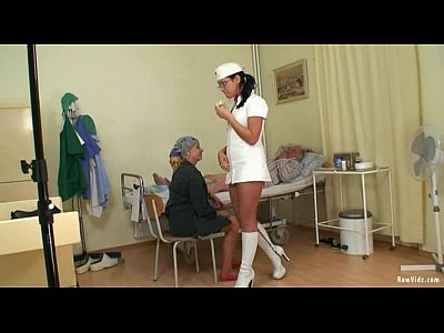 Old Man's And Nubile Nurse Fuck (8 min)