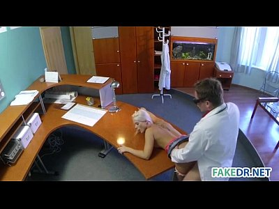 Fakehospital spying on hot young babe having special time 2