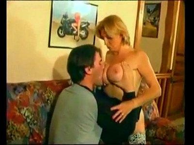 old woman teaching sex to boy