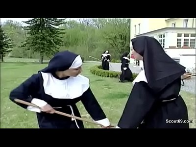 Xxx Videos German nun get her first fuck from repairman in kloster
