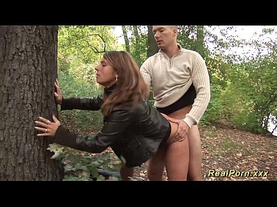 Shaved outdoor bdsm young