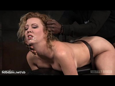 Amateur blondie gf throatfucked hard by thick cock 2