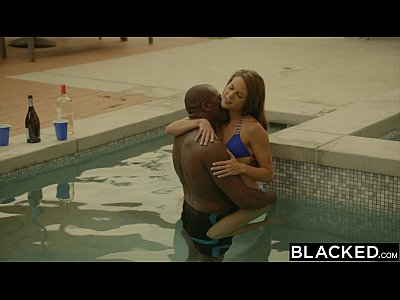 12 Min BLACKED.com Ally Tate Gets Naughty With Black Dick