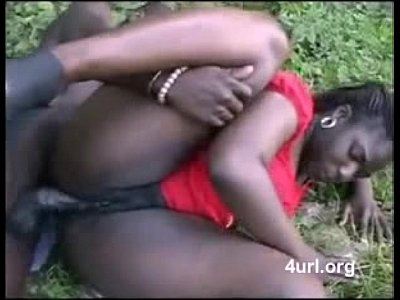 african woman fucking outdoor