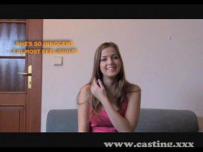 Casting primera vez creampie para la inocente estudiante