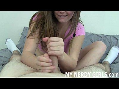 Girls giving first handjob excellent idea