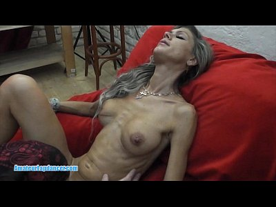 image Busty czech milf lapdancer rides on hard cock