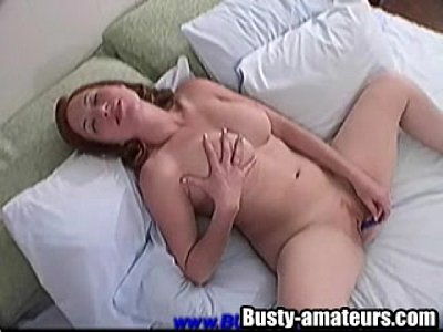 Busty Chick Ginger On Hot Solo (6 min)