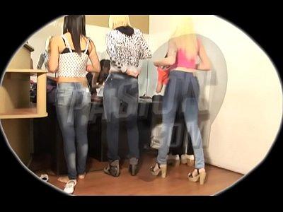 Video Caseros Gratis el camarin de las bailarinas de pasion