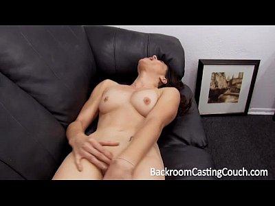 Sorpresa ninfómana anal casting