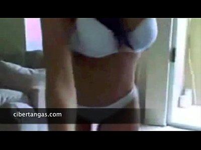 Culonas bailando en la webcam