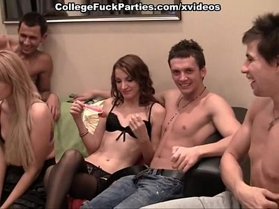 Homemade orgy in student sorry