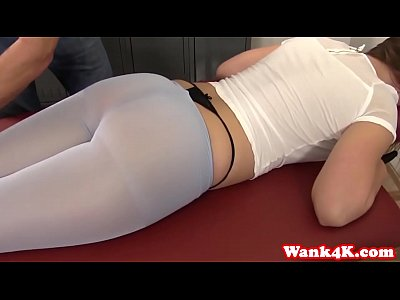 Hd pov gymnast small tits brunette rubs clit gets fucked - 2 part 3