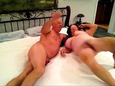 grandpa licking grandma
