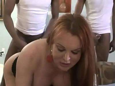 Black Gangbang Shemale - Interacial shemale gangbang - Porn pic
