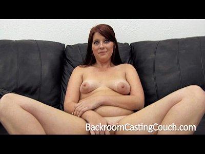 Curvy girl next door anal casting