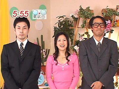 【放送事故】またフ○テレビが失態!朝番組の企画で女子アナが性の餌食に杉崎夏希