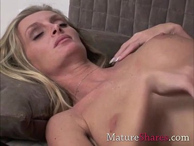 attractive blonde, kacey jordan is using her soft feet to give pleasure to her partner