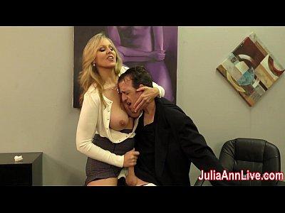 Julia ann milks stepson before his date 6