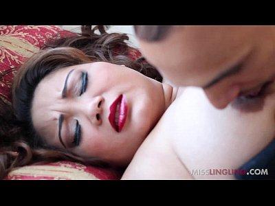 Exotic bbw miss lingling gives big black cock sloppy blowjob 3