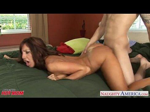 Spunk on her big tits xxx