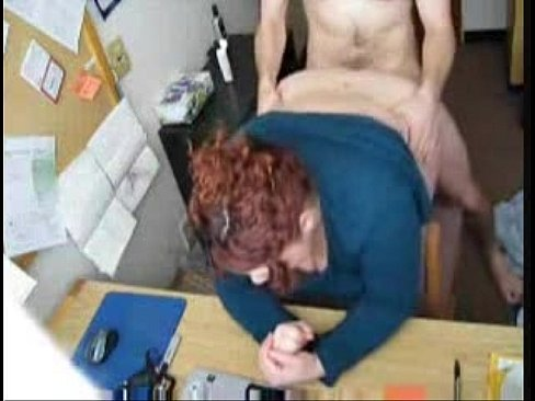 Bend over for anal