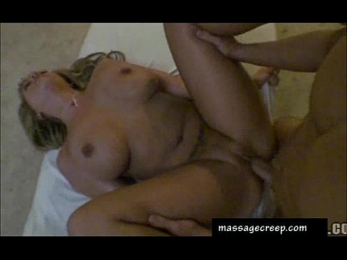 Busty Blonde Tit Massage!