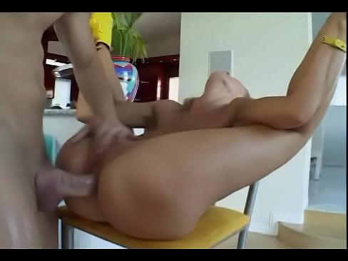 Crazy anal bitch