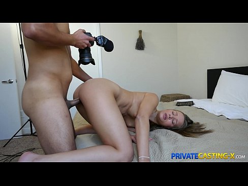 image Private casting x shy cutie takes a mouthful
