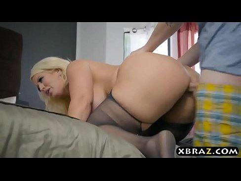 Horny stepmom wants to fuck her daughter039s boyfriend 2